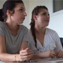 Mikela e Noemi estetiste diploma professionale IALFVG